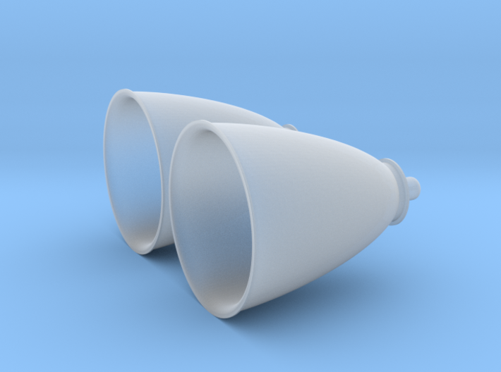 1/72 Space Shuttle OMS Engines (2) 3d printed