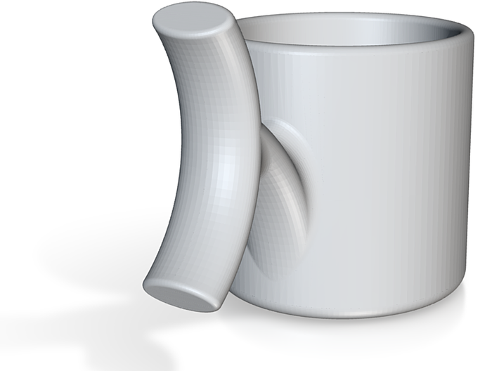 Espresso Cup red 3d printed
