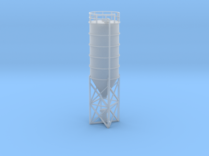 N Scale Cement Silo FUD 3d printed
