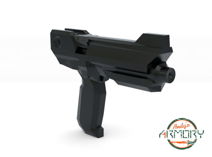 Andy's Armory: AA BLST 002 Compact Pistol 3d printed