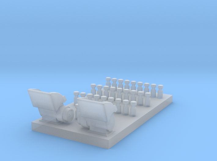 Whirlwind Rear Centre Consol 3d printed