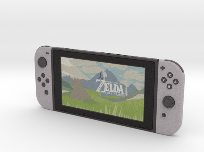 1:6 Nintendo Switch (Screen On) 3d printed