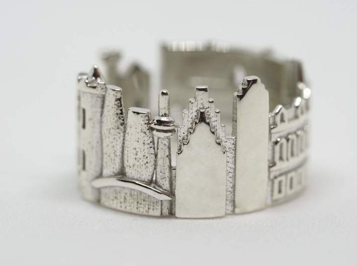 Toronto Ring - Gift For Canadian 3d printed
