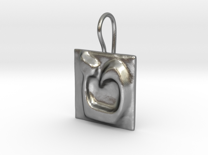 09 Tet Earring 3d printed