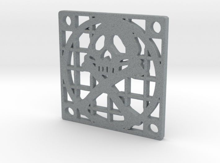 Fan Grille 30x30 Pyrat 3d printed