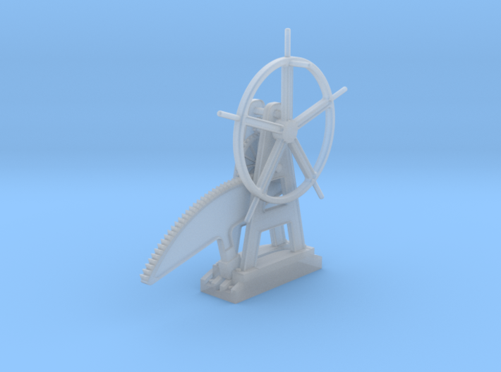 EP712A M&H Crossing Gate Wheel 3d printed