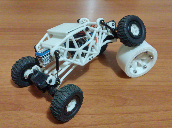 Losi Micro Rock Crawler 3D printed KIT 3d printed Losi micro rock crawler 3D printed chassis (mounted) twist