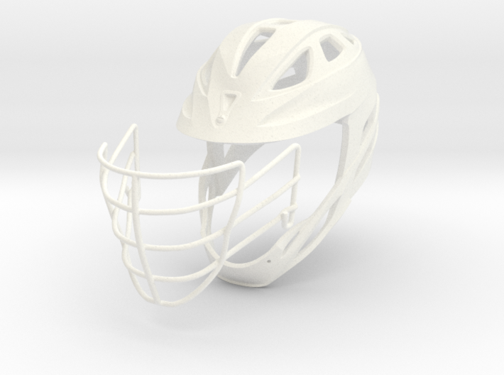 Helmet Divided - 2 Objects 3d printed