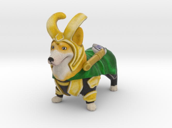 LoCorgi (Loki Corgi)  3d printed