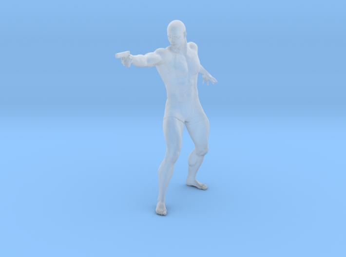 1:24 Male soldier 003 3d printed