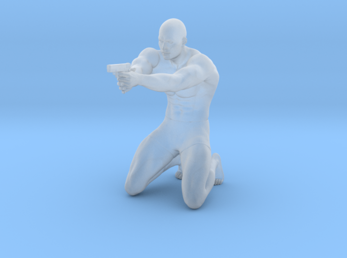 1:24 Male soldier 014 3d printed