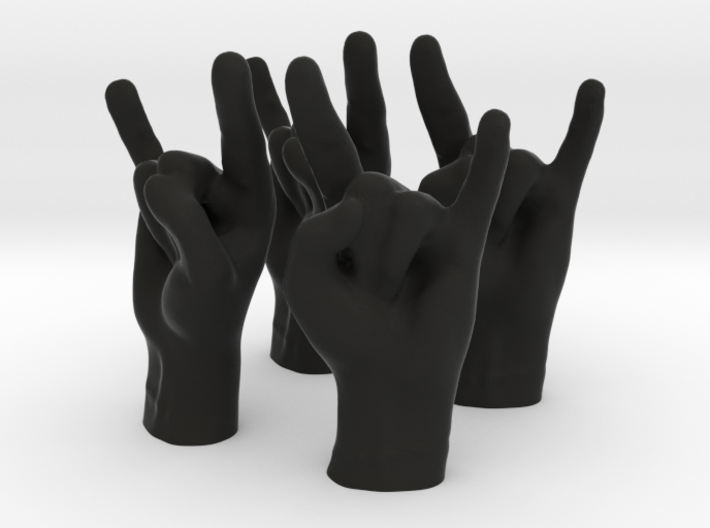 Horns Small 3d printed