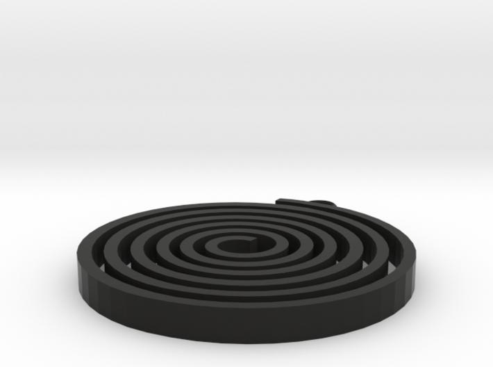 Boucle-spiralou 3d printed