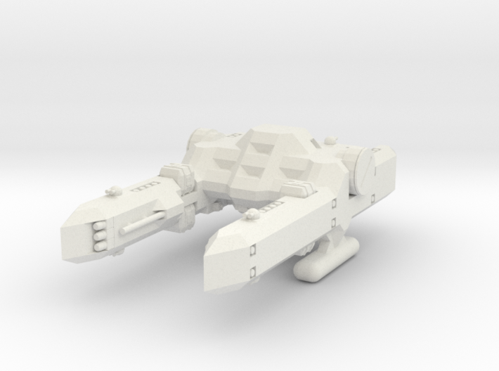1/1000 Scale Percy Class Mid-Bulk Freighter 3d printed