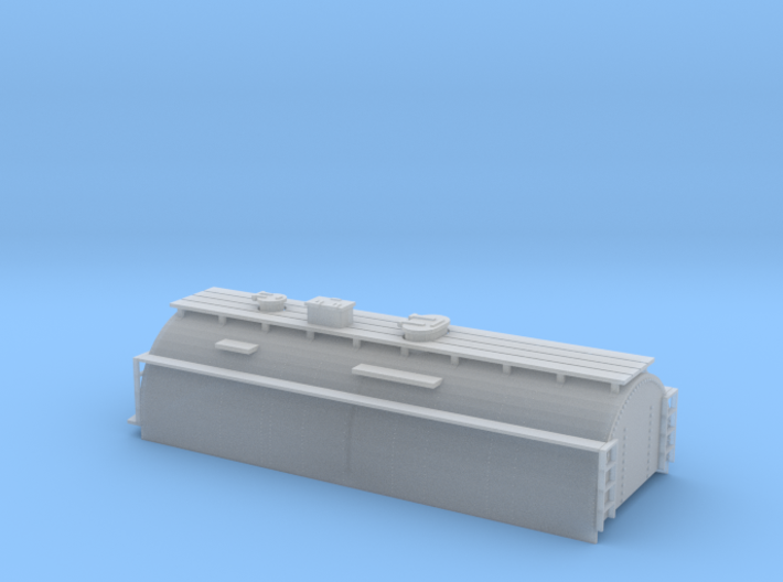 N-Scale Whaleback Tender Shell for Bachmann 4-6-0 3d printed