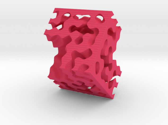 Fractals Of The Labyrint 3d printed