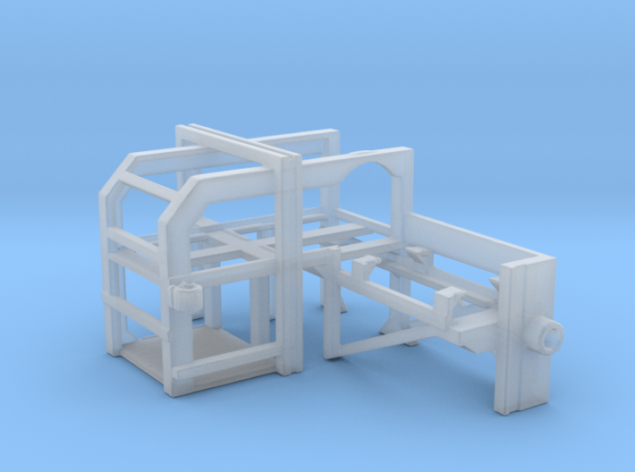 1/125 DC Loader Rack (Opposite) 3d printed