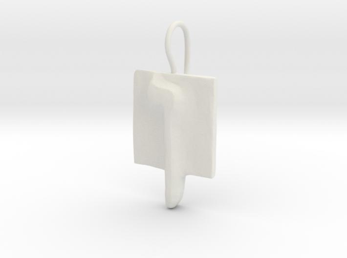 25 Nun-sofit Earring 3d printed