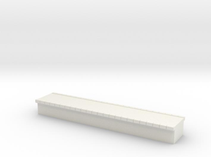 N Scale Platform #1 Centre 3d printed