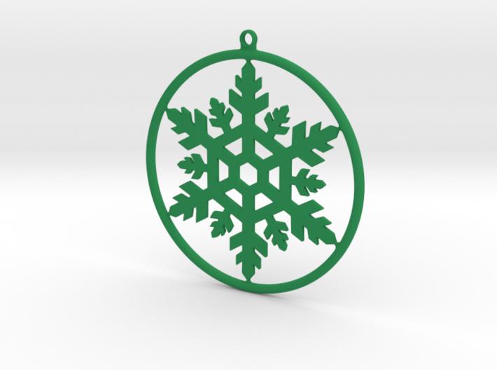 Snowflake Cercle 3d printed