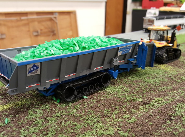 Safe-T-Pull Crop Shuttle 3d printed
