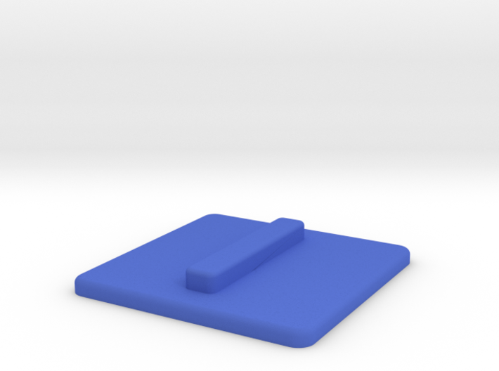 Blue replacement tile (Rubik's Blind Cube) 3d printed