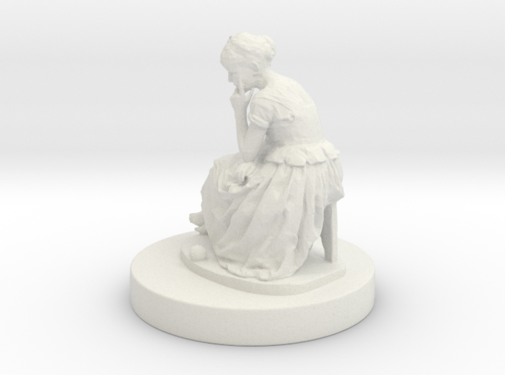 Printle Thing Statue 001 - 1/43.5 3d printed