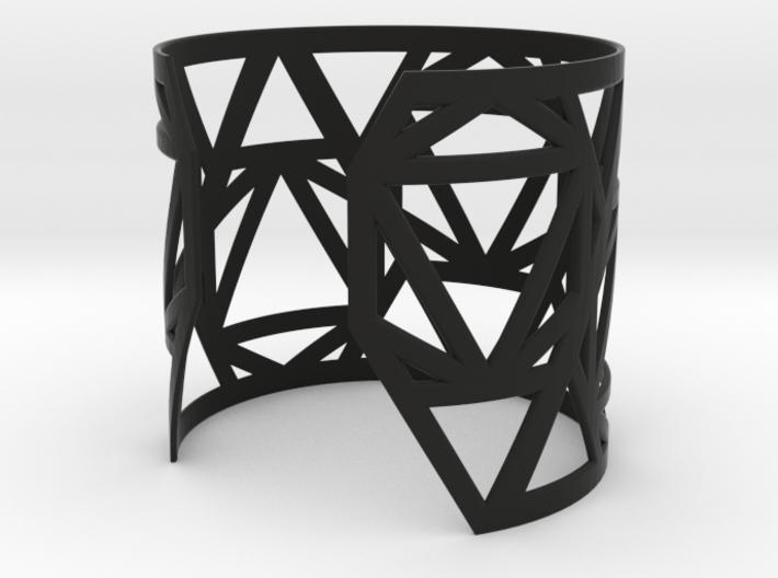 Zero Point Wrist Cuff 3d printed