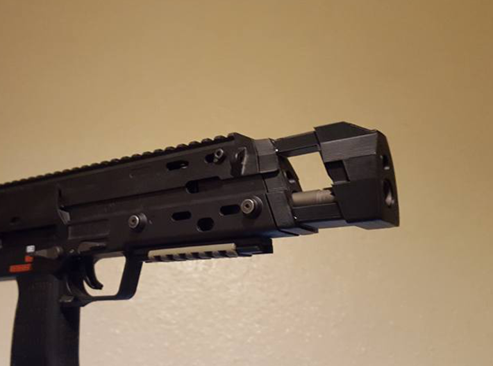 """MP7 """"Apollo"""" frontend 3d printed Early prototype for test fitting"""