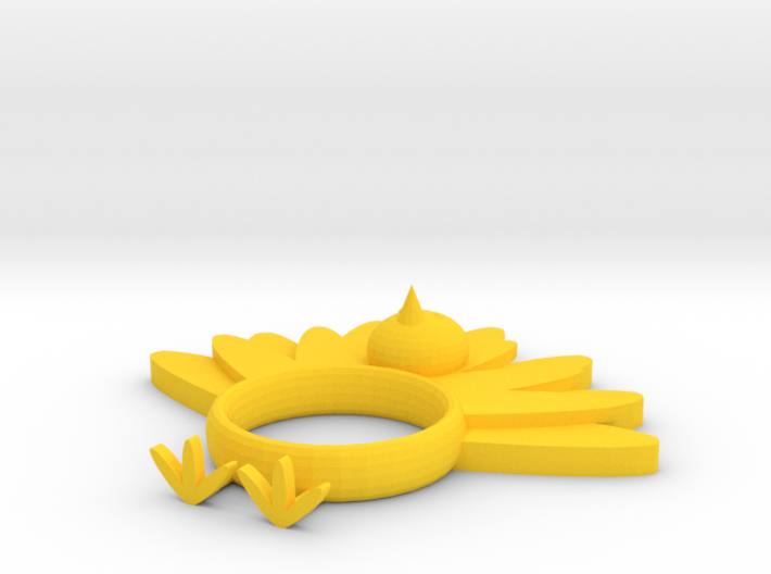 Turkey Napkin Ring 3d printed