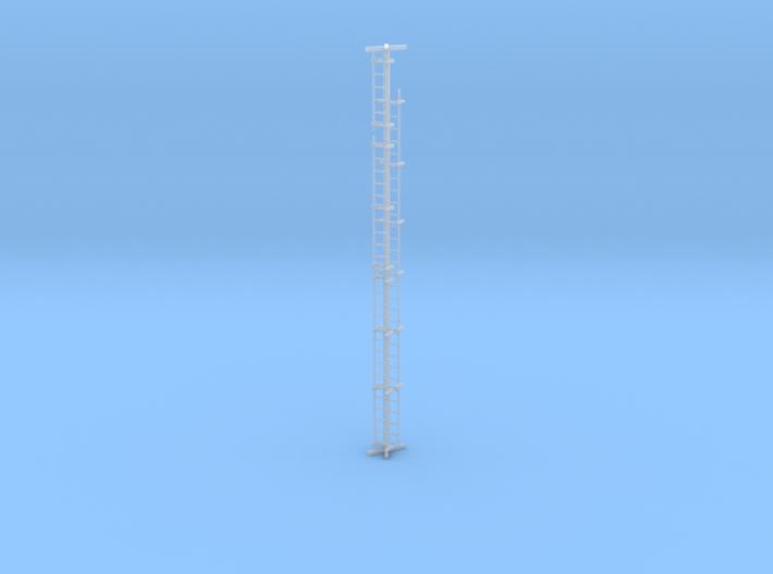 Ladder, Minuteman II trailer, scale1/72 3d printed