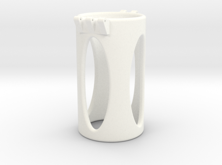 Ccage-shaft-oval 36-75 3d printed