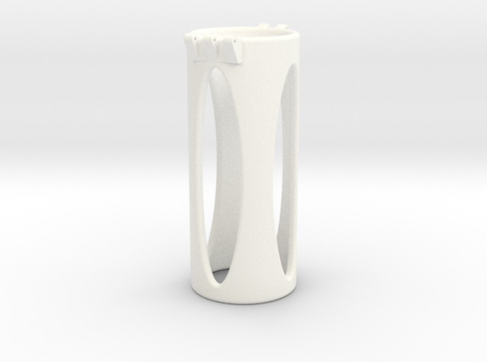 Ccage-shaft-oval 35-100 3d printed