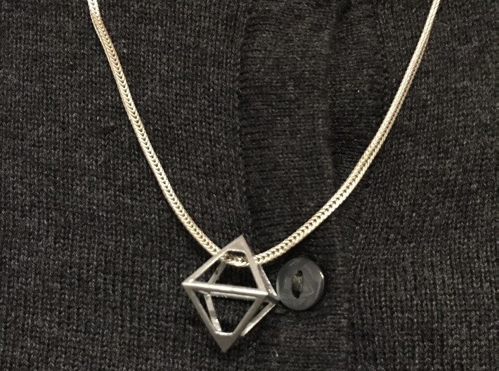 Watchdogs ctOS Pendant 3d printed