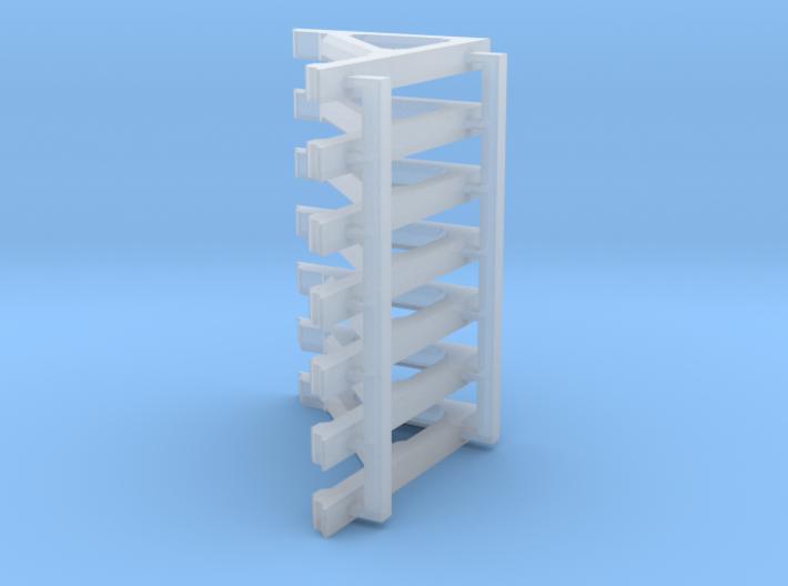 1-20.3-Fort Logan Level Bracket Sprue 3d printed