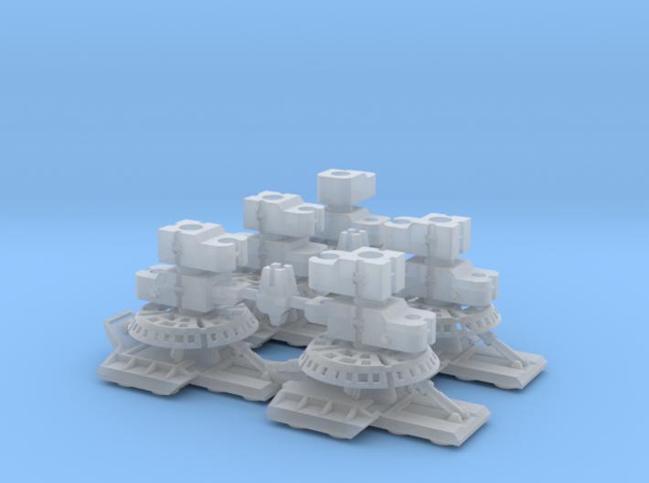 YT1300 MPC LANDING GEAR SET FRONT/REAR NO ROD 3d printed