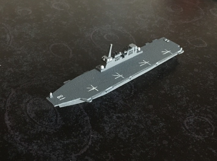 Hyuga-class DDH, 1/1800 3d printed Painted Sample