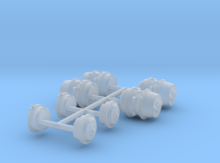 1/35 HEMTT Brake Cylinders MSP35-027 3d printed