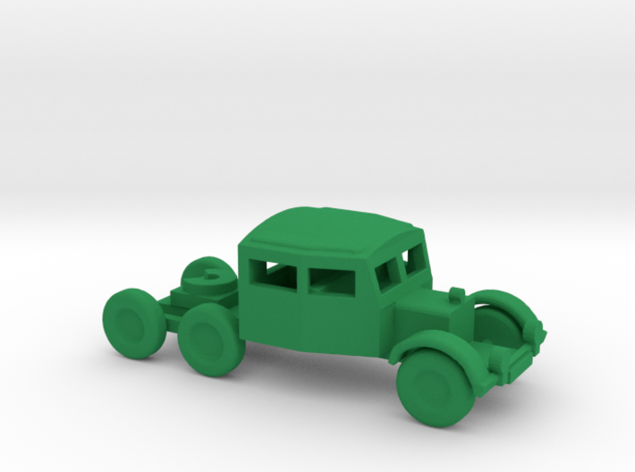 1/200 Scale Scammel Tank Transporter 3d printed
