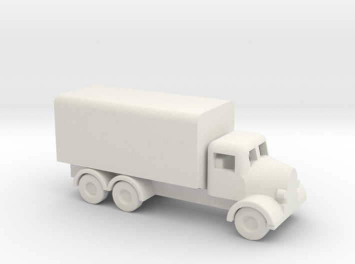 1/144 Scale Austin K6 Covered Truck 3d printed