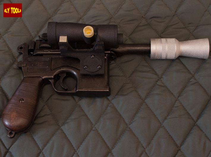 ESB M19 Scope (Pro Version) - Lenses 3d printed Full DL-44 ESB Han Hoth Version, Denix based