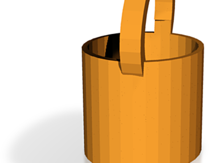 Bucket Or Basket Or Vase 3d printed