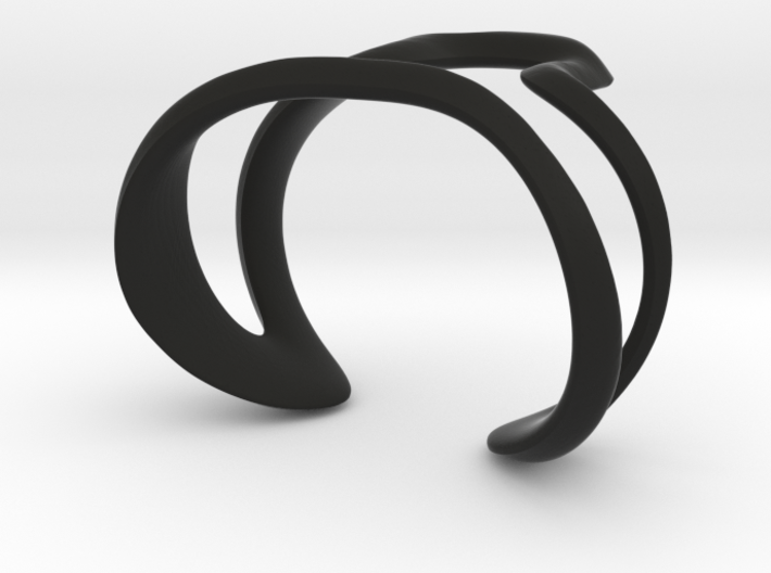 Mind generated bracelet - my idea of art 3d printed