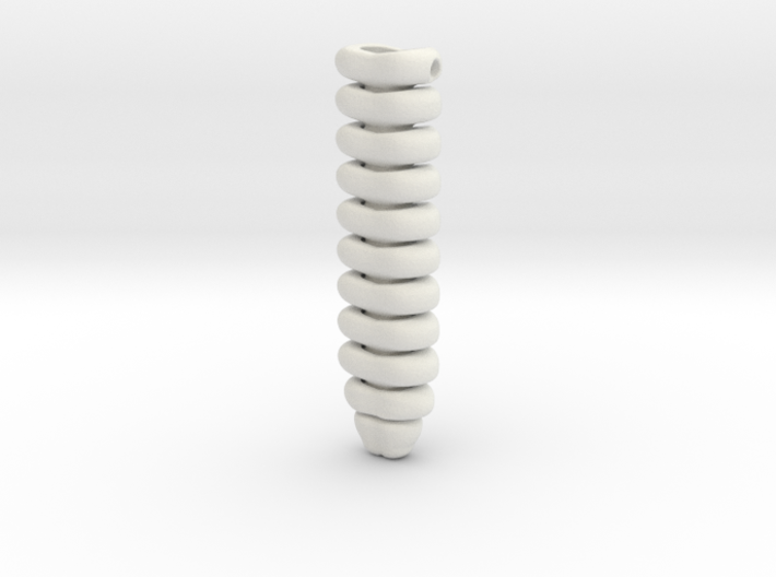Rattlesnake Rattle (Mini) 3d printed