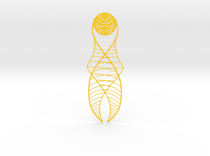 Golden Snitch Bookmark 3d printed