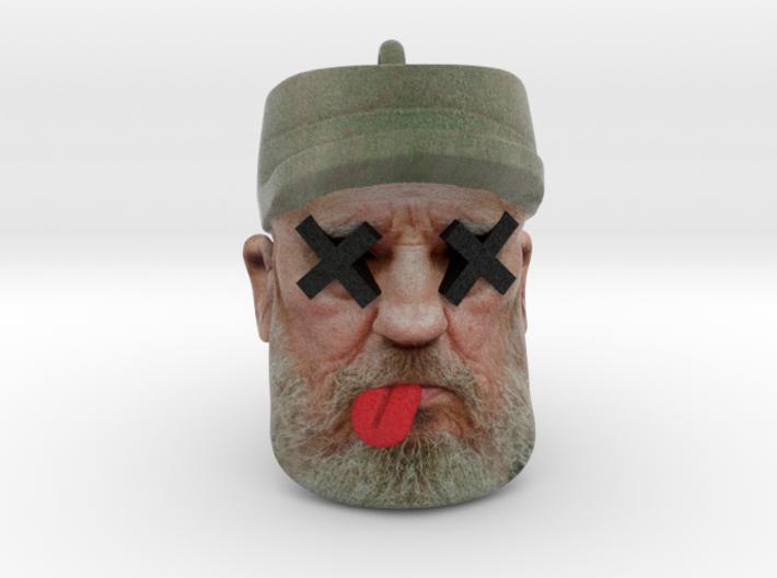 Dead Fidel Castro Ornament 3d printed