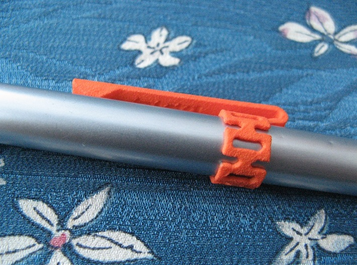 Pen Clip: for 11.0mm Diameter Body 3d printed (pen not included)