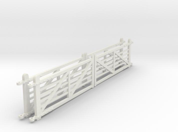 "EP710 4 x NSR 12'6"" Crossing gates 3d printed"