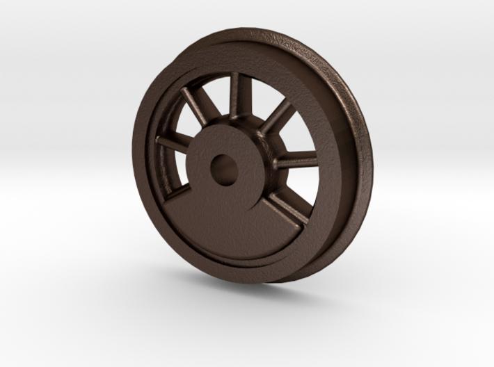 Mogul - Driver 2 .625 Plus 1% 3d printed Baldwin 8-12D Mogul Flanged Drive Wheel