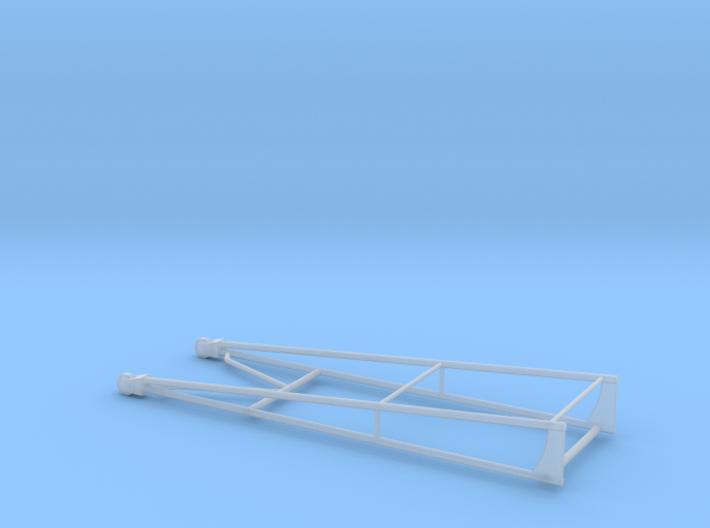Wheelie Bar Dual 3d printed